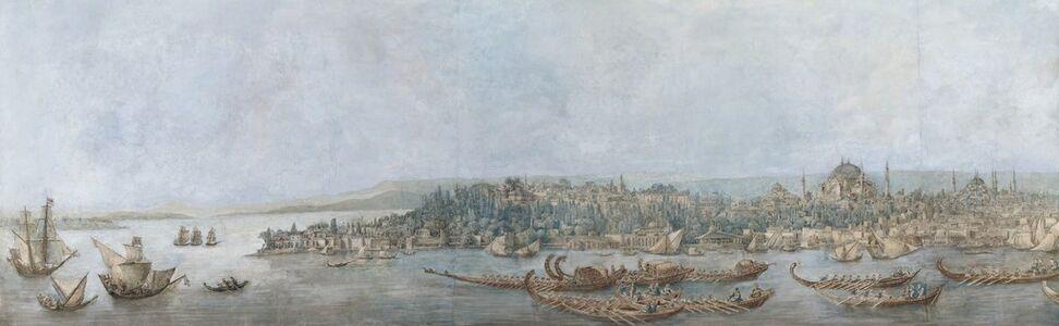 Louis-François Cassas, 'Panorama of Sarayburnu', Late 18th Century -Early 19th Century
