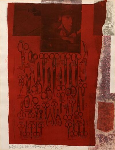 Robert Rauschenberg, 'More Distant Visible Part of the Sea', 1979
