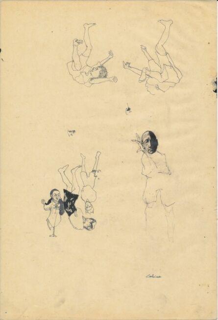 Cat Roissetter, 'Somnambulists' Prep Sketch I', 2008