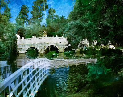 Connie Samaras, 'Huntington Chinese Garden and OEB Box 326 folder 3, photograph of Octavia E. Butler, Deception Falls, Washington, 2001-2005', 2016