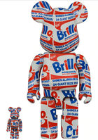 Andy Warhol, 'Andy Warhol Brillo Be@rbrick 400% (Warhol Be@rbrick)', 2020