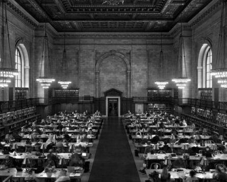 Matthew Pillsbury, 'Main Reading Room, New York Public Library (TV11503)', 2011