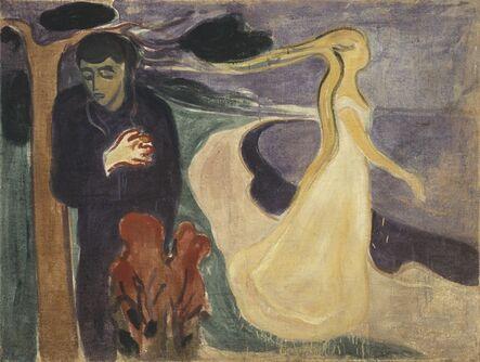 Edvard Munch, 'Separation', 1896