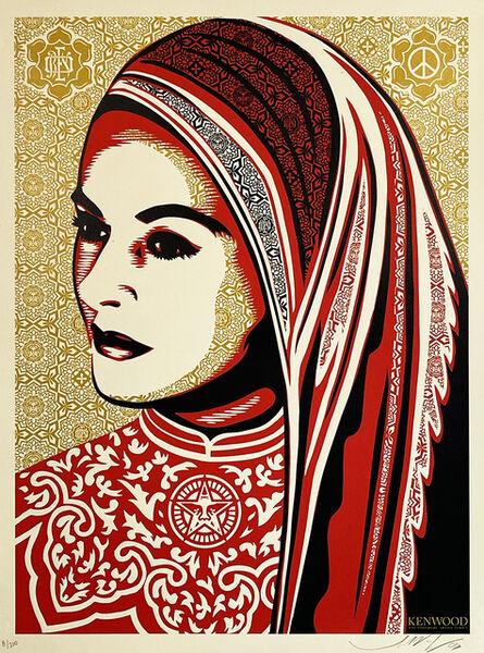 Shepard Fairey, ''Peace Woman' (Kenwood)', 2008