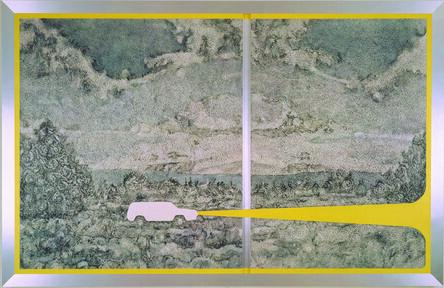 Richard Artschwager, 'The White Cherokee', 1991