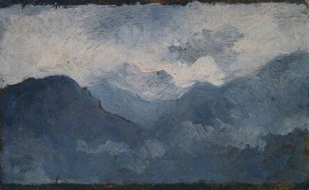 Giovanni Marchini, 'Grigie montagne', 1930
