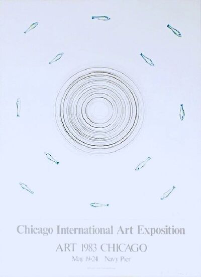 Ed Ruscha, 'Chicago International Art Exposition (Signed)', 1983