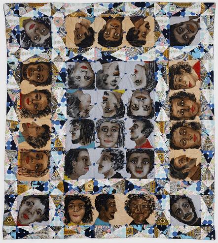 Faith Ringgold, 'Echoes of Harlem', 1980