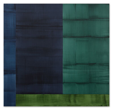 Ricardo Mazal, 'Bhutan Abstraction with Grey-Green 1', 2014