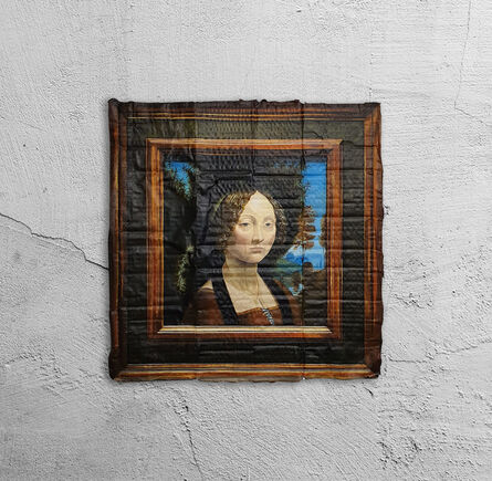 Julio Anaya Cabanding, 'Leonardo da Vinci. Retrato de Ginebra de Benci', 2020