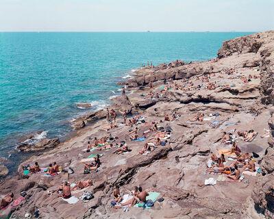 "Massimo Vitali, '10 Calafuria from ""A Portfolio of Landscapes With Figures""', 2006"
