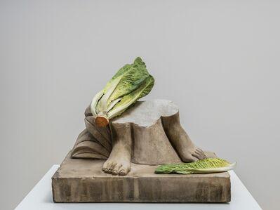 Tony Matelli, 'Feet (Romaine)', 2019