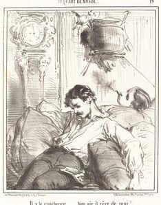 Edouard de Beaumont, 'Il a le cauchemar...'