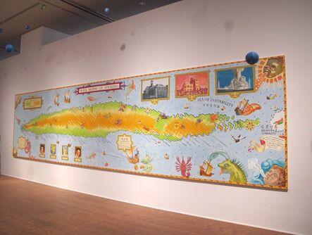 Nobuaki Takekawa, 'Island of Nuclides', 2012
