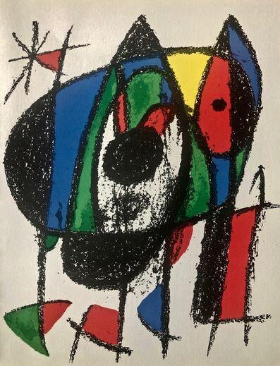 Joan Miró, 'Original Lithograph V', 1975