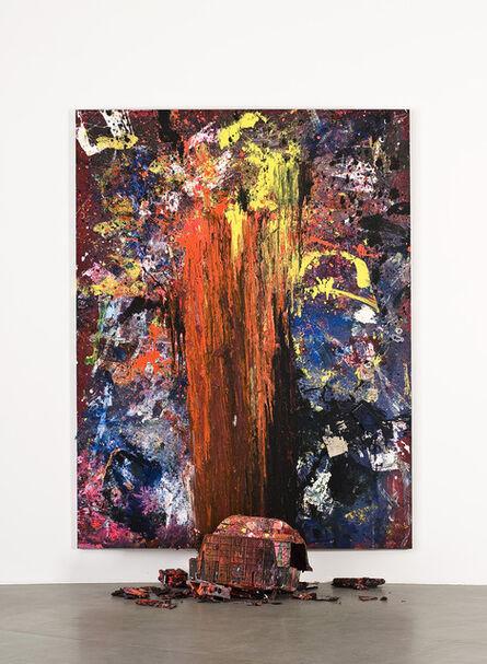 Dan Colen, 'Hand of Fate', 2011
