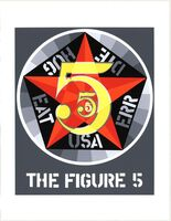 Robert Indiana, 'The Figure Five', 1997