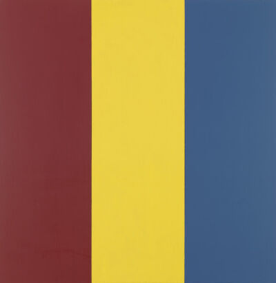 Brice Marden, 'Red Yellow Blue I', 1974
