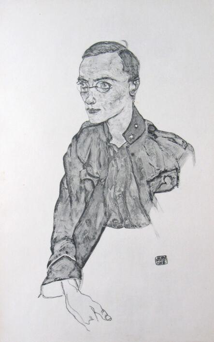 Egon Schiele, 'One-Year Volunteer Private [Zeichnungen]', 1917