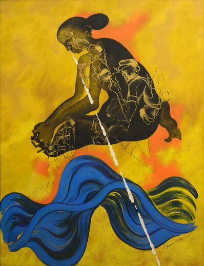 Arpana Caur, 'Soldier's Mother', 1995