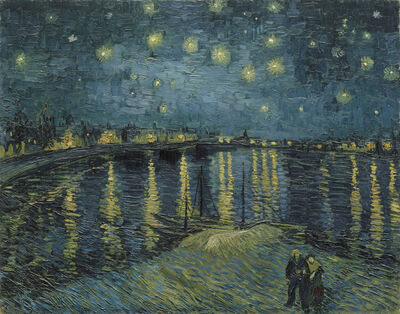 Vincent van Gogh, 'Starry Night over the Rhône', 1888