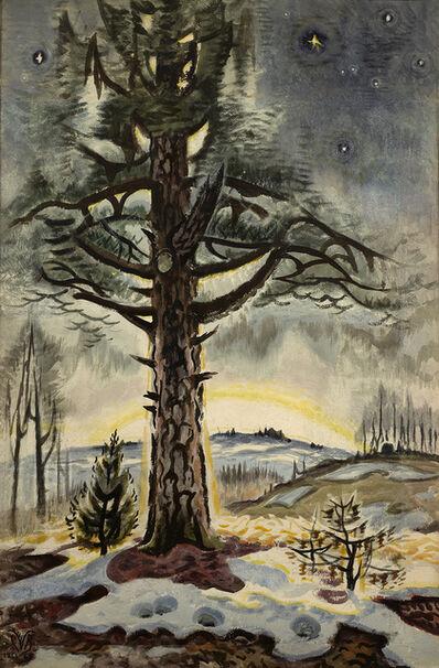 Charles Ephraim Burchfield, 'Late Winter Dawn', 1956-1965