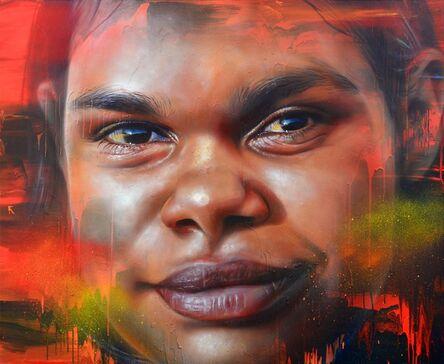 Adnate, 'Through her eyes', 2017