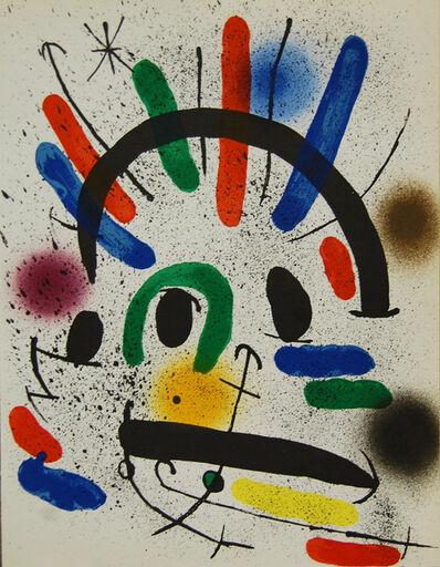 Joan Miró, 'Litografia Original II', 1972