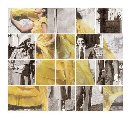Edy Ferguson, 'Valentino Yellow', 2015