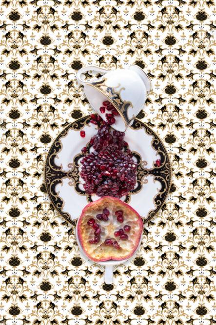 JP Terlizzi, 'Marchesa Baroque Night with Pomegranate', 2019