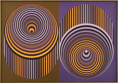 Victor Vasarely, 'BIVONN-2', 1983