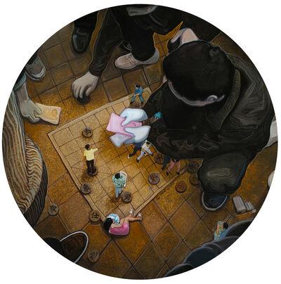 Zhou Jinhua 周金华, '局-金', 2014