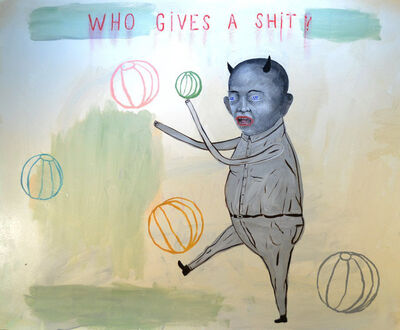 Fred Stonehouse, 'Who Gives A Shit?', 2015