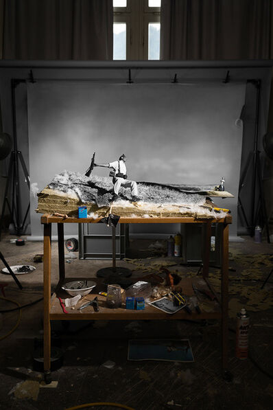 "Cortis & Sonderegger, 'Making of ""The Falling Soldier"" (by Robert Capa, 1936)', 2016"
