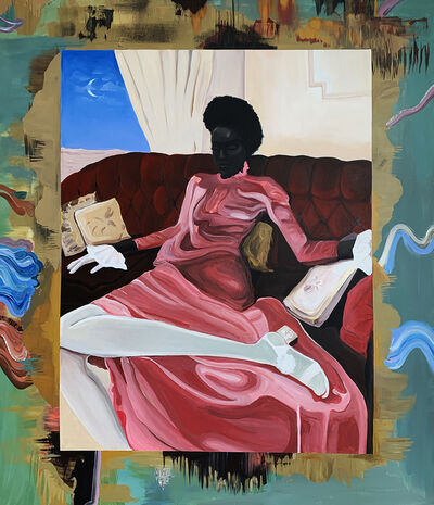 Megan Gabrielle Harris, 'Lounge', 2020