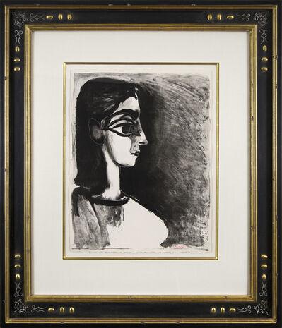 Pablo Picasso, 'Buste de profil', 1957