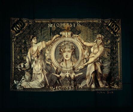 Shao Yinong & Mu Chen 邵逸农 & 慕辰, '1908 100 German Mark Note (Goddess)', 2004-2010