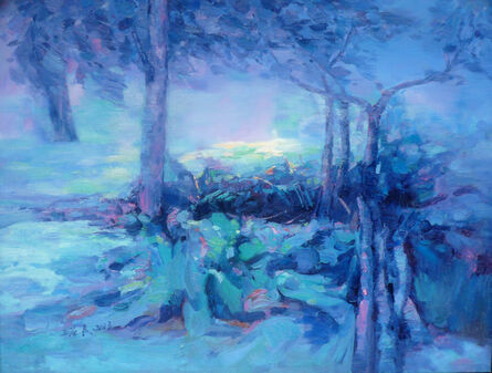 YING LEUNG WONG, 'Blue ', 2013