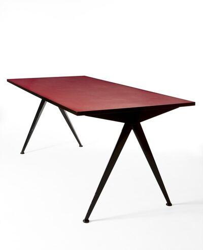 """Jean Prouvé, '""""Compas"""" table'"""