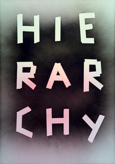 Marc Bijl, 'Hierarchy', 2015
