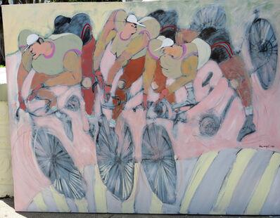 Felix Angel, 'Untitled- Bicyclists', 1985