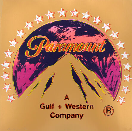 Andy Warhol, 'Paramount, from the Ad Series', 1985