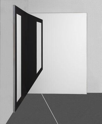 Carlo Alfano, 'Distanze (Delle distanze dalla rappresentazione)', 1969