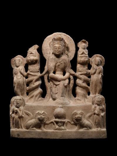 'Altarpiece with Pensive Figure of a Bodhisattva', 556