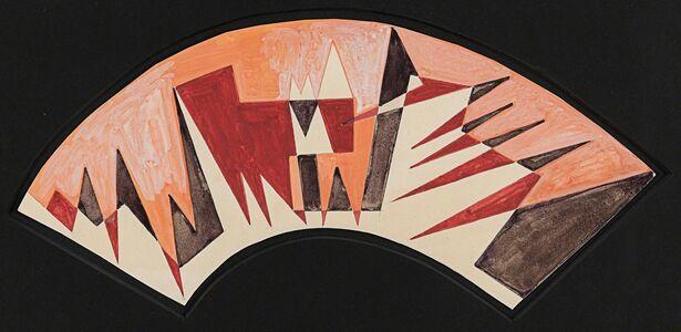 Giacomo Balla, 'Forze Spaziali (Project for a lampshade)', ca. 1920