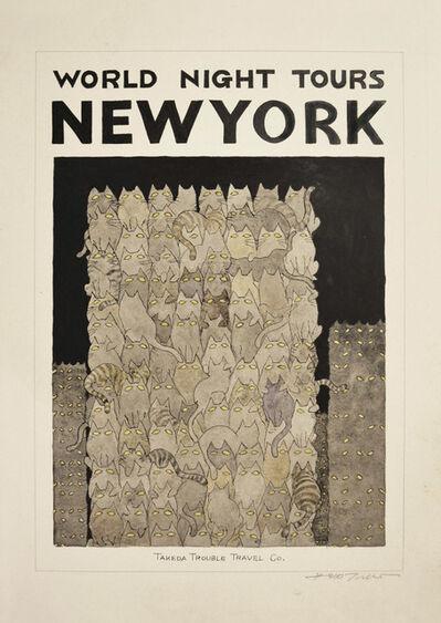 Hideo Takeda, 'NEW YORK', 2014