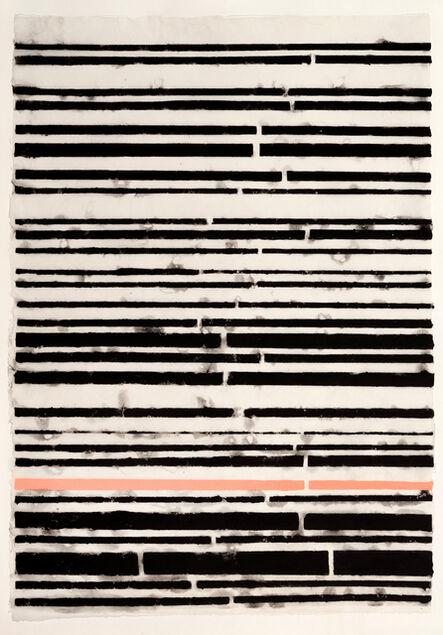 Teresa Cole, 'Blacks and Pink Stripe', 2015