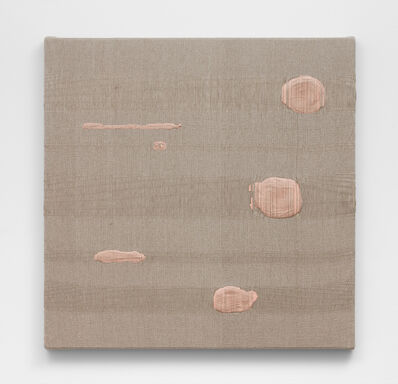 Analía Saban, 'Composition with Six Woven Brushstrokes #2', 2021