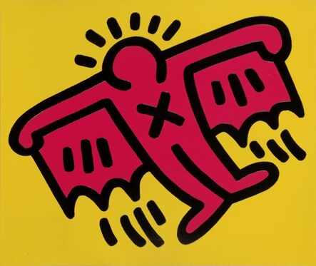 Keith Haring, 'Untitled, from Icons (Littman p. 171)', 1990