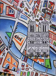 Simon Pradinas, 'Notre-Dame de Paris', 2016